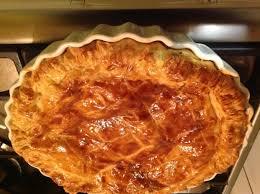 cuisiner vesse de loup recette tourte aux pommes de terre et chignons de 750g