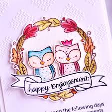 happy engagement card moccavanila by vera rhuhay happy engagement card