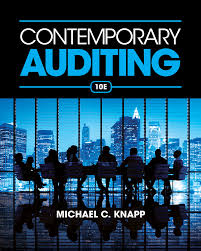 contemporary auditing 10th edition 9781285066608 cengage