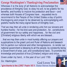 george washington thanksgiving proclamation 1789