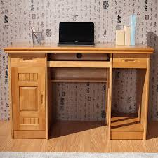 Computer Desk With Doors Table Two Meters Of Solid Wood Computer Desk Home About Fashion