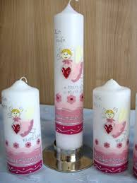 christening candles christening candles with great motifs and decorations hum ideas