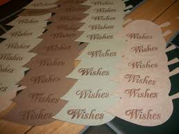 wedding wishing trees for sale 50 wedding wish tree leaves with rhinestones tags on sale