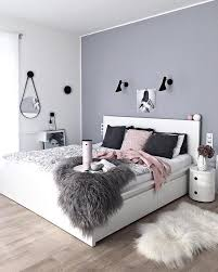 wohnideen schlafzimmer grau graue wandfarbe und eine ganz andere des streichens weiße
