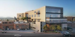 new west l a apartments to feature ground floor whole foods expo station offices rising in west los angeles design partners