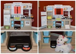 Step 2 Storybook Cottage Used by Step2 Mixin U0027 Up Magic Kitchen Review Thrifty Nifty Mommy