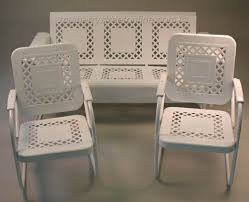 lovely vintage metal outdoor furniture vintage retro patio