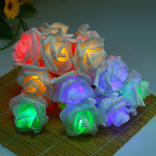 Novelty String Lights by Aliexpress Com Buy Fashion Holiday Lighting 20 Led Novelty Rose