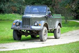 old military jeep old allies military vehicle of world war two stock photo picture
