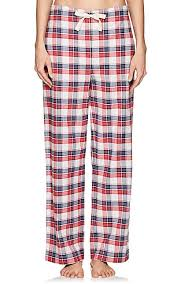 the sleep shirt plaid cotton flannel pajama barneys new york