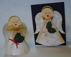 christmas angel ornament and card falliday fest host favorites