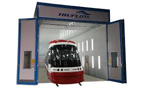 paint booths spray booths spray systems state shipping truflow spray booths tram spray booths large scale