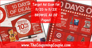 target black friday 2016 out door flyer target ad scan for 11 20 to 11 23 16 browse all 28 pages