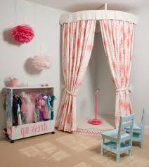Dress Curtains Dressing Closet Designs Kids Traditional With Red Patterned