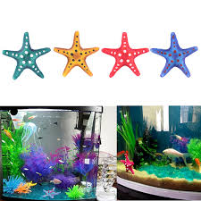 starfish marine aquarium decoration robo fish fish tank