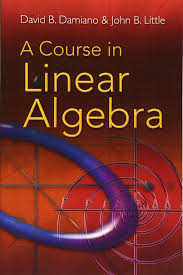 a course in linear algebra david b damiano john b little