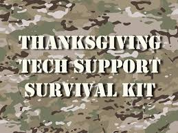 check out our thanksgiving tech support survival guide 2017