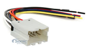 scosche nn03b wire harness to connect an aftermarket stereo