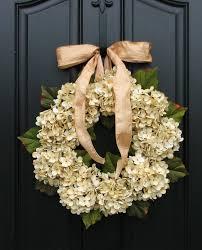 hydrangea wreath hydrangea wreaths fall wedding decor wedding wreaths