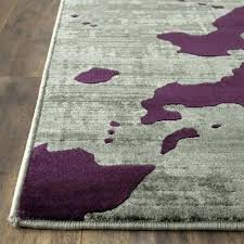 Purple And Grey Area Rugs Fantastic Grey And Purple Rug Classof Co
