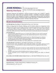 New Rn Resume Sample by Rn Resume Examples