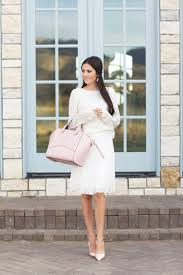light pink kate spade bag winter white pink peonies by rach parcell