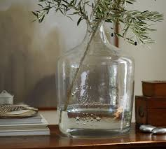 Oversized Vase Oversized Glass Bottle Pottery Barn