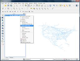 calculating line lengths and statistics u2014 qgis tutorials and tips