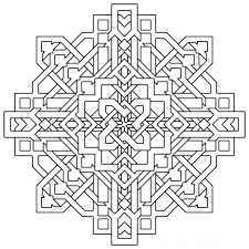 geometric coloring pages dr odd