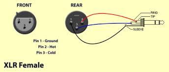1 4 to xlr male wiring diagram wiring diagram