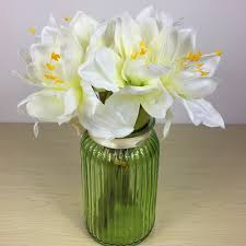 Silk Amaryllis Flowers - compare prices on white amaryllis flower online shopping buy low