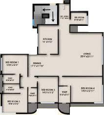 Regent Residences Floor Plan by Neelkanth The Regent In Ghatkopar East Mumbai Price Location