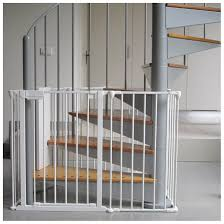 Baby Safety Gates For Stairs Spiral Stair Gate Homesafe Kids Staircase Photo Gates For Elderly