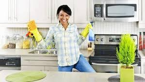 nettoyer cuisine nettoyer le plafond de la cuisine 5 é
