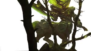 elderwood hecarim render by kimotokazugata on deviantart