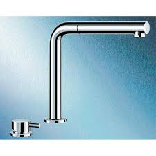 blanco periscope sf ii kitchen mixer 516671 with extendable spout