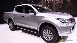 mitsubishi jeep 2015 2015 mitsubishi l200 exterior and interior walkaround 2015