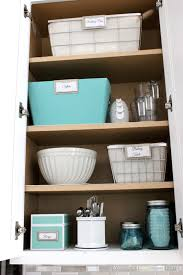 at home with nikki kitchen cabinet organization