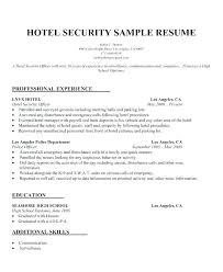 armed security job resume exles armed security guard resume mattbruns me