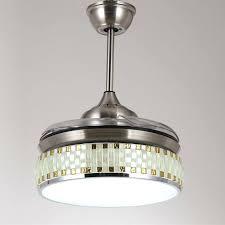 fan with retractable blades retractable ceiling fan retractable blade folding ceiling fan light