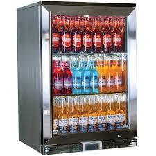 glass door bar fridge rhino alfresco bar fridge 138l capacity gsp1h ss