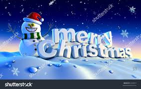 happy snowman wishes merry stock illustration 2349919
