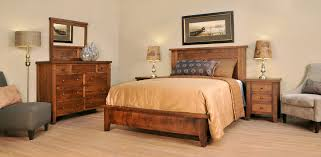 Shaker Bedroom Furniture Ruff Sawn Farm House Bedroom Amish Solid Wood