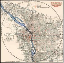 map of oregon portland railway map of portland 1904