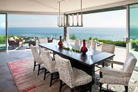 Area Rug Ideas Dining Room Contemporary With Anaheim Black Dining - Area rug dining room