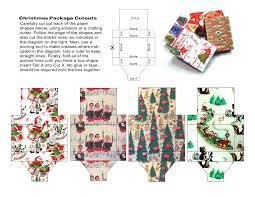 christmas papercraft miniature gift boxes jetpack jason