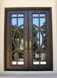 Steel Exterior Doors With Glass Office Door Steel Entry Doors Commercial Steel Doors Metal Door