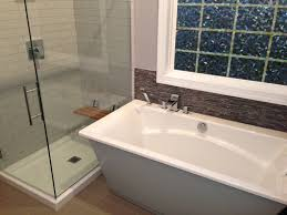 Maax Glass Shower Doors by Decor Shower Glass Enclosure And Window Treatments With Mosaic