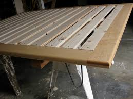 build how to build a simple platform bed frame diy wooden