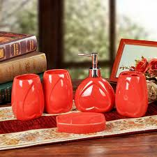 Red Bathroom Accessories Sets by Furniture Home Inspiration Bathroom Excellent Red Bathroom